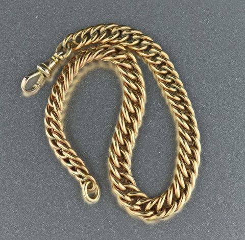 Antique Edwardian Antique Chain Bracelet 1900s
