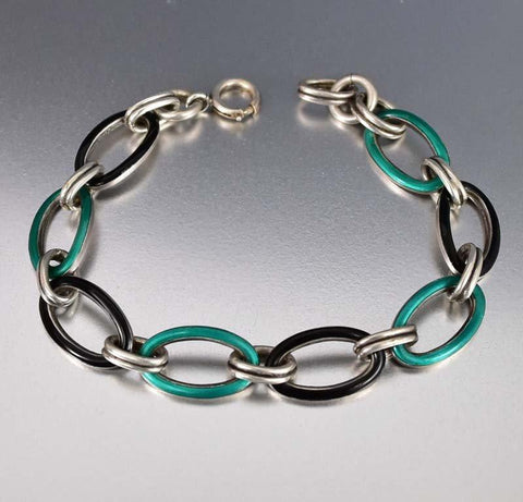 Gold Aquamarine Snake Bracelet, Art Deco Arm Cuff