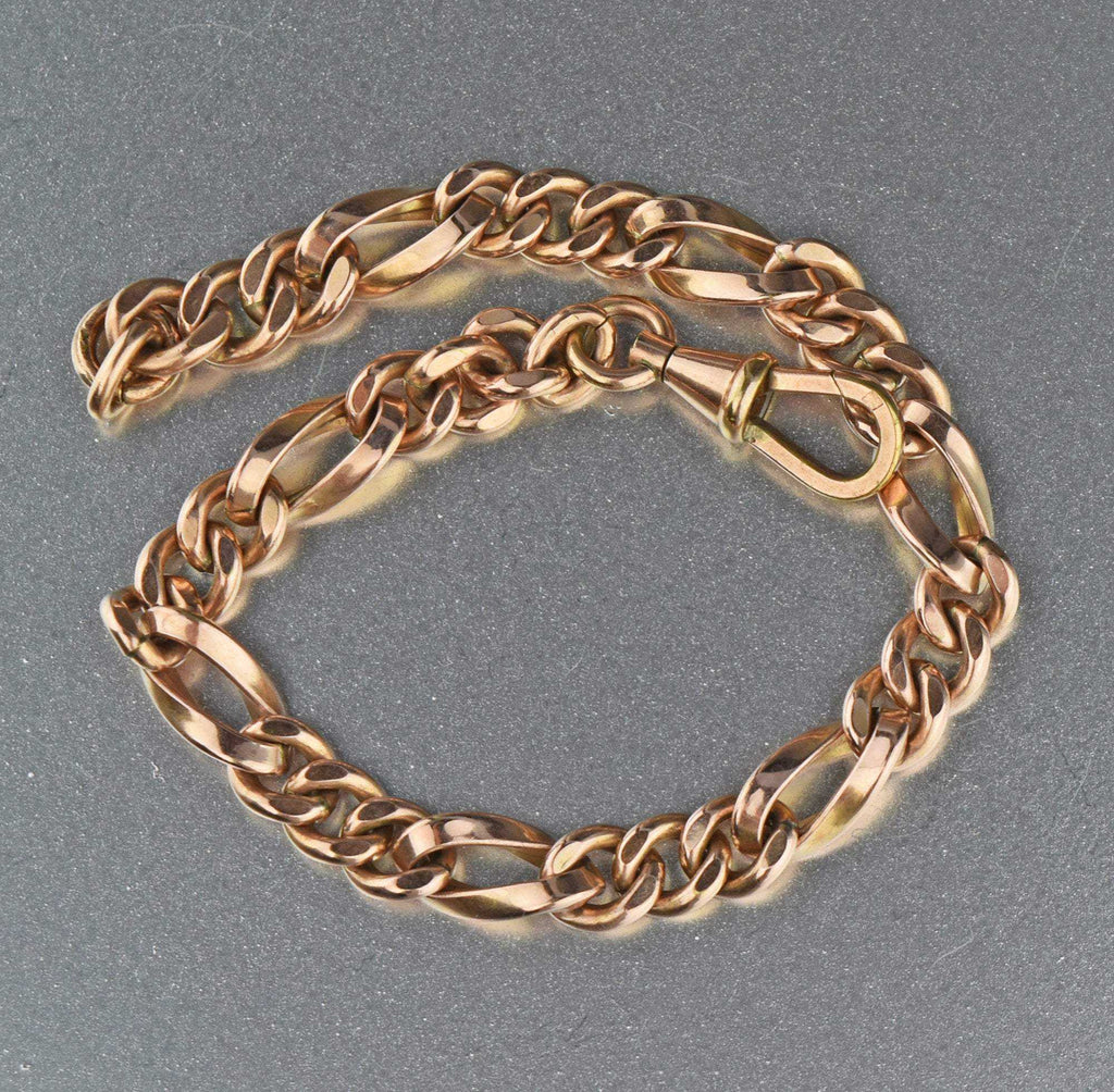 Antique Edwardian Chain Bracelet 1900s - Boylerpf