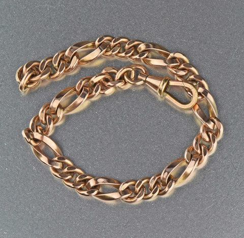 Antique Edwardian Chain Bracelet 1900s