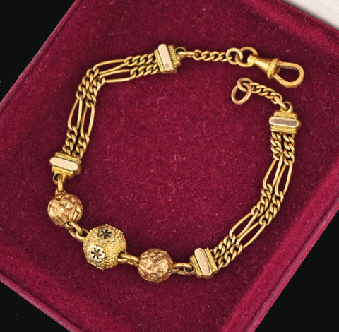 Albertina Pocket Watch Chain Bracelet 19th Century