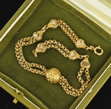 Vintage 14K Gold Filled Albertina Watch Chain Bracelet - Boylerpf
