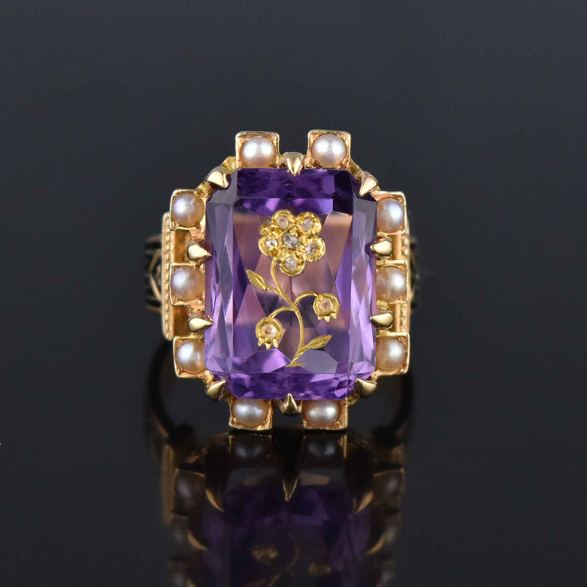 EXQUISITE HAND CRAFTED ANTIQUE RINGS!
