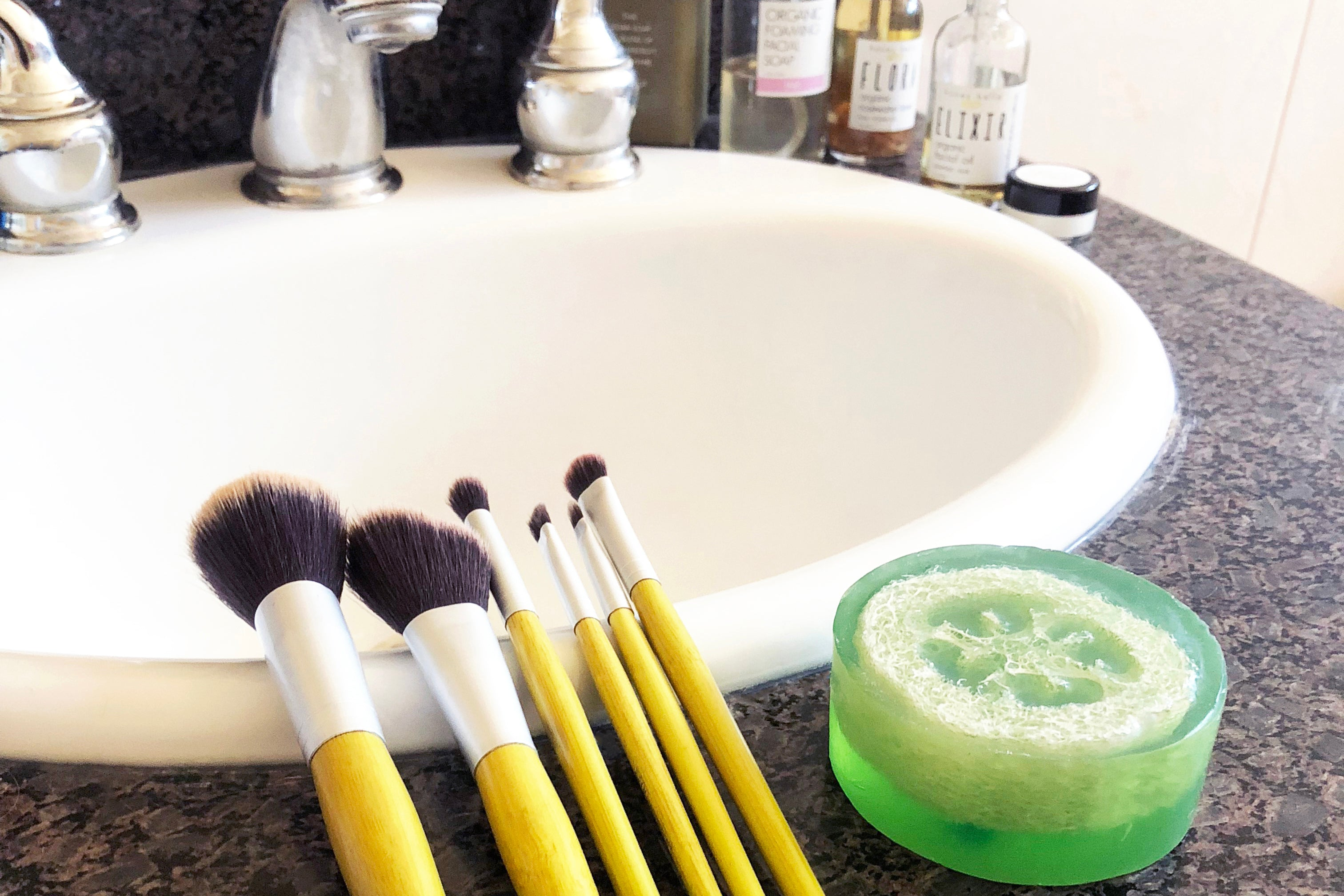 It is also an effective way to clean your dirty makeup brushes! This method of cleansing is essentially using two different cleansers, one oil based ...