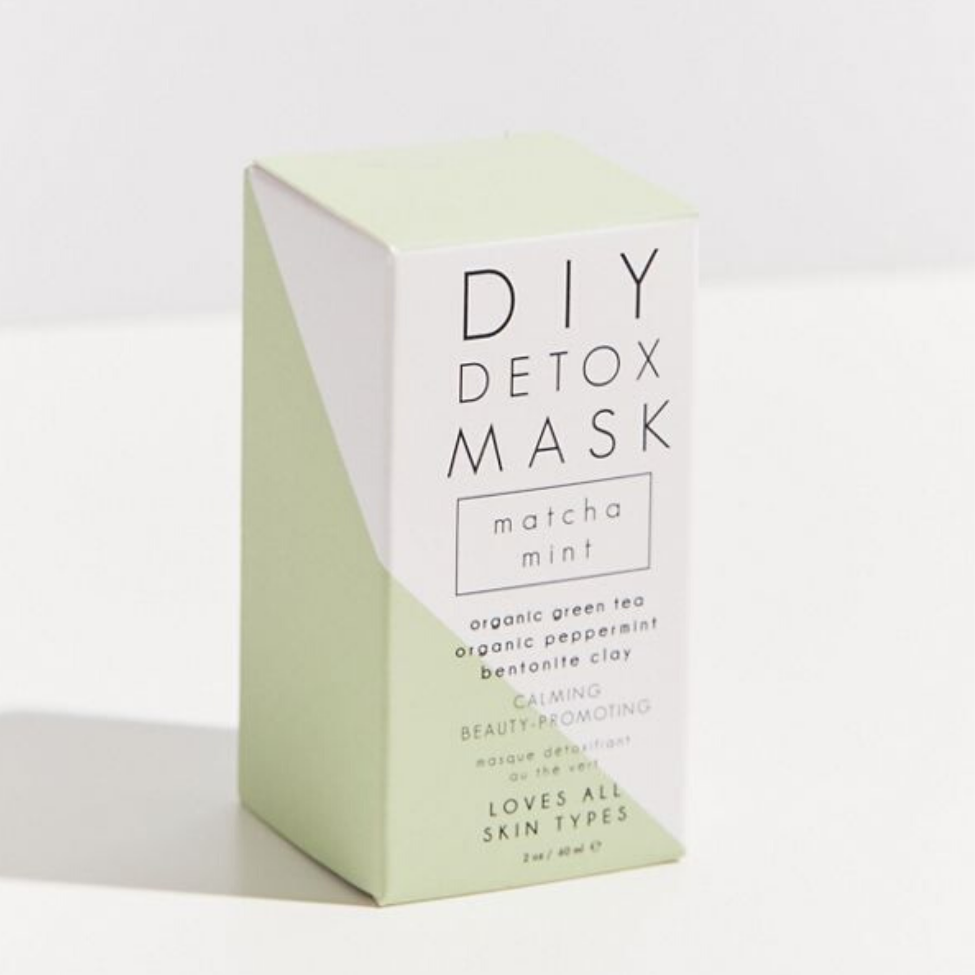 Matcha Mint DIY Detox Mask