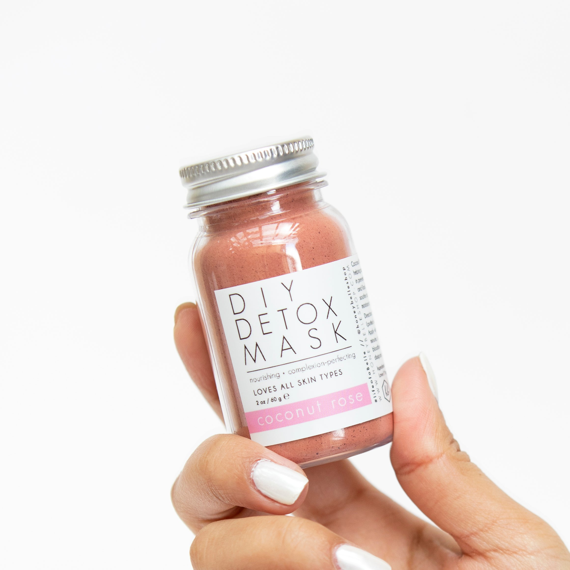 Coconut Rose DIY Detox Mask