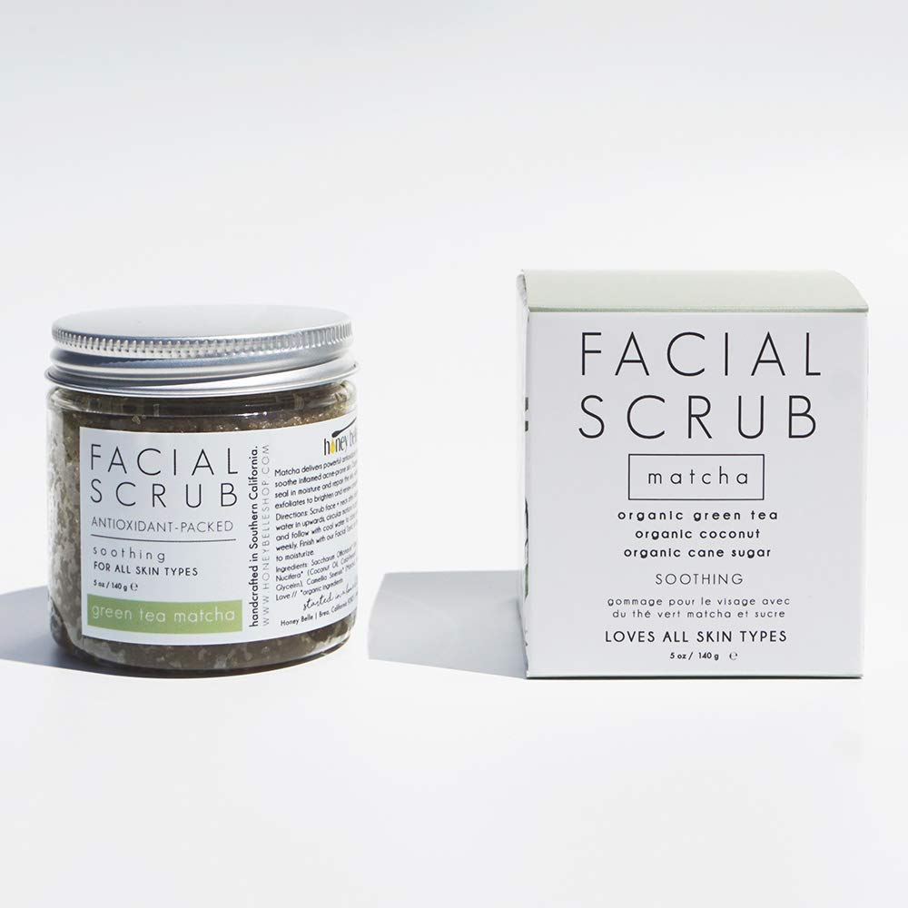Green Tea Matcha Facial Scrub