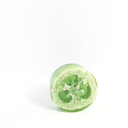 'eucalyptus peppermint' loofah soap