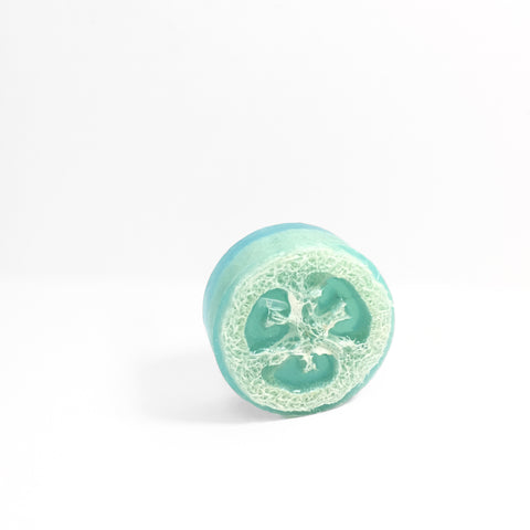 'green tea cucumber' loofah soap