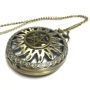 Supernatural Pocket Watch - Trendy Gear--accessories - 1
