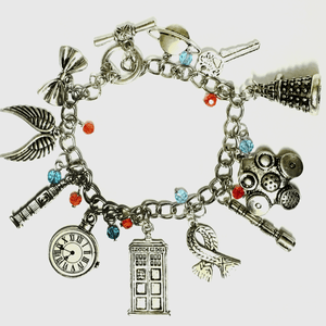 Whovian Charm Bracelet - Trendy Gear--accessories
