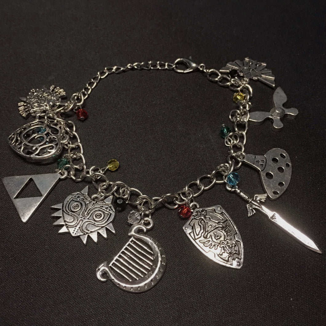 Zelda Charm Bracelet - Trendy Gear--accessories