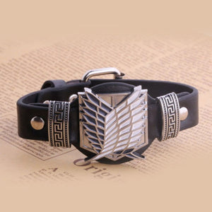 Wings of Liberty Leather Bracelet - Trendy Gear--Bracelet - 1