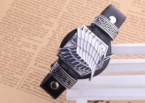 Wings of Liberty Leather Bracelet - Trendy Gear--Bracelet - 2