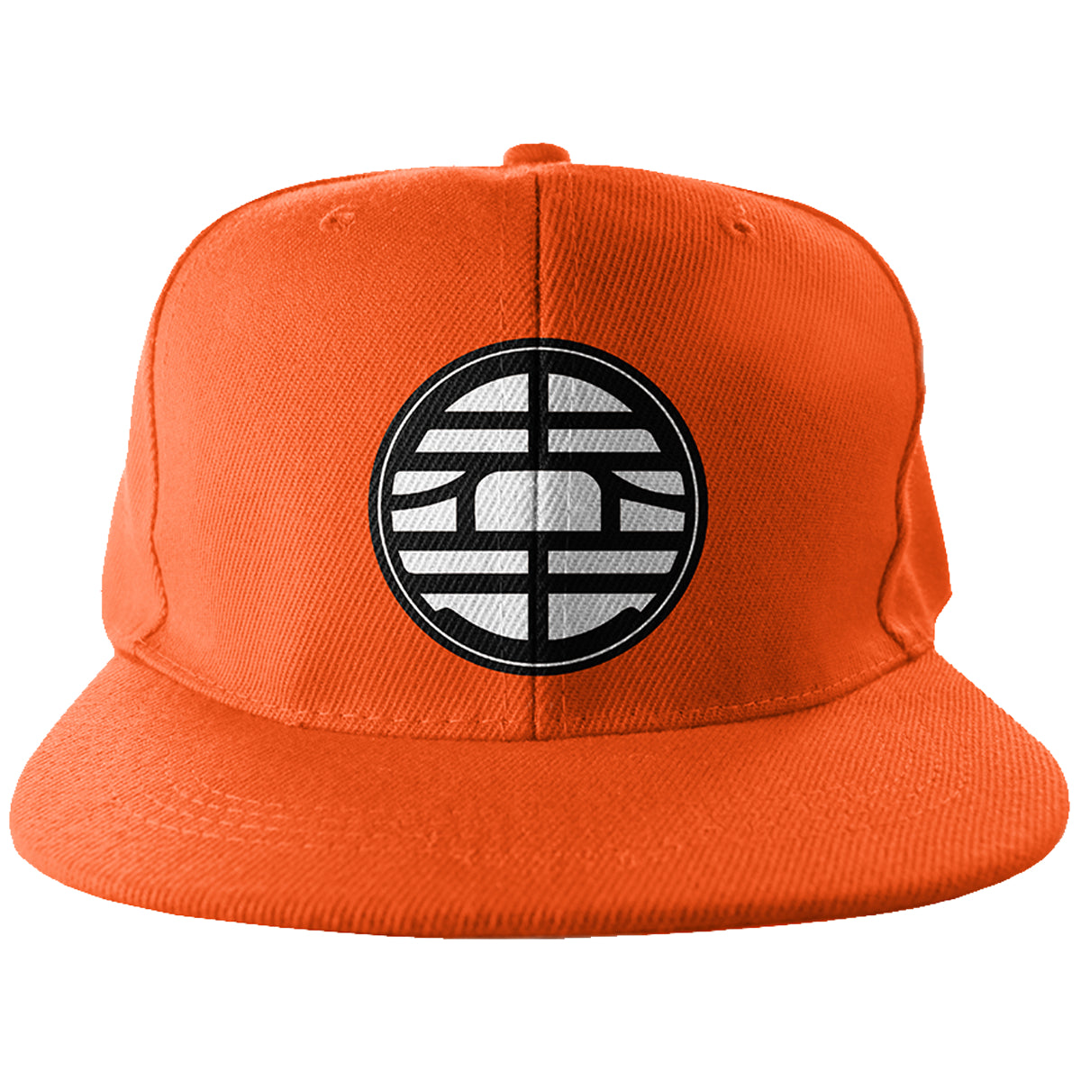 King Kai Snapback - Trendy Gear-Orange-Embroidery - 1