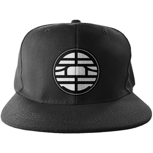 King Kai Snapback - Trendy Gear-Black-Embroidery - 2