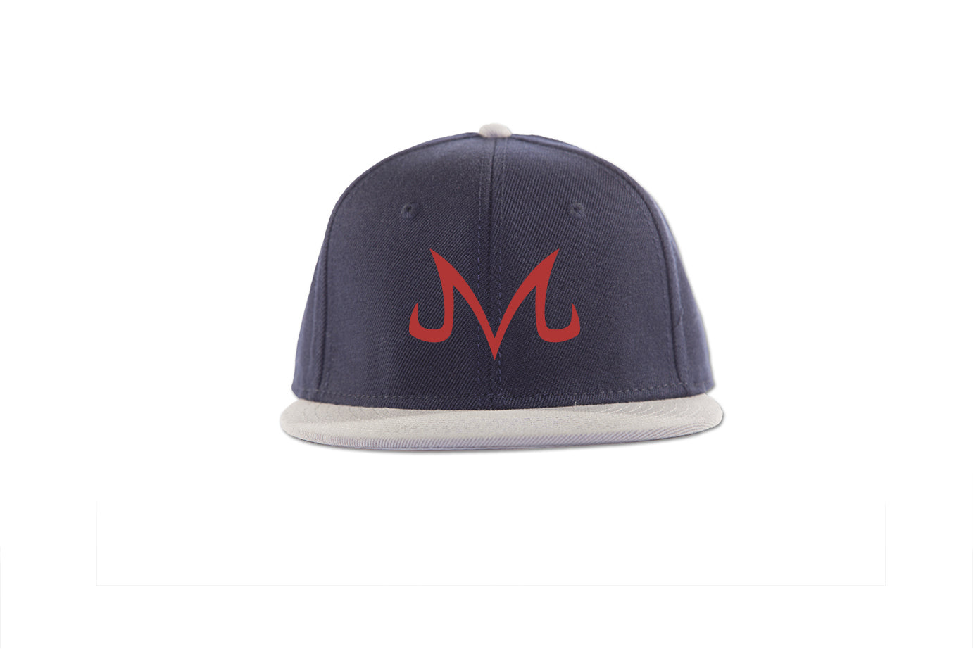"Majin Snapback - Trendy Gear-Grey/Nvy/Nvy Red""M""-Embroidery - 8"
