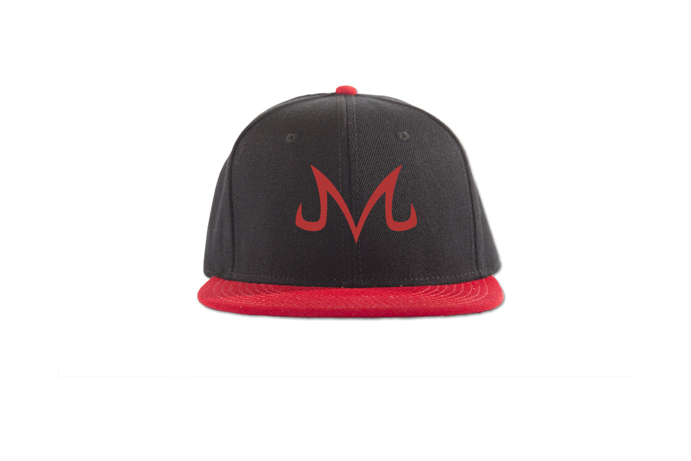 "Majin Snapback - Trendy Gear-Red/Blk/Blk Red ""M""-Embroidery - 9"