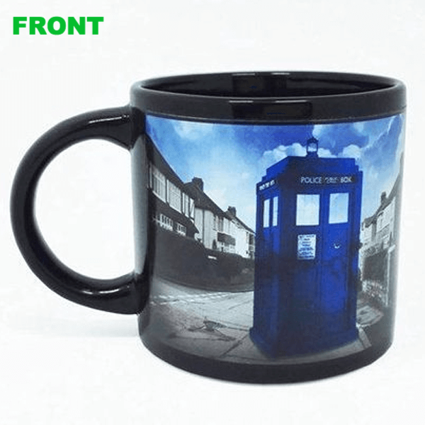 Tardis Mug Heat Sensitive - Trendy Gear--Mugs - 1