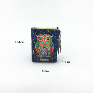 Rainbow Owl Wallet