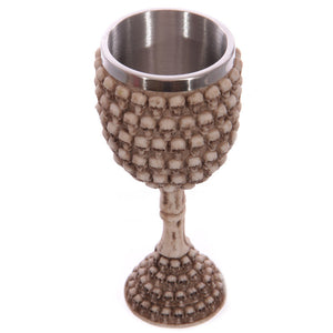 Undead Ossuary Skull Wine Cup