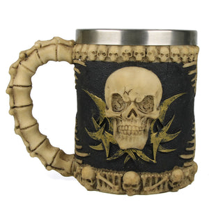 Skull Spine Coffee Mug