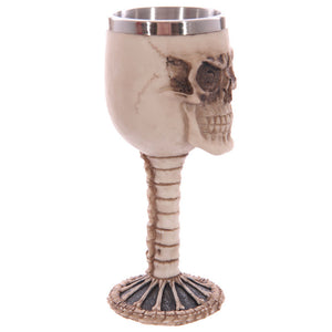 Skull and Spine Wine Cup