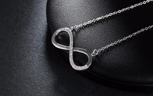 Infinity Pendant 925 Sterling Silver Necklace