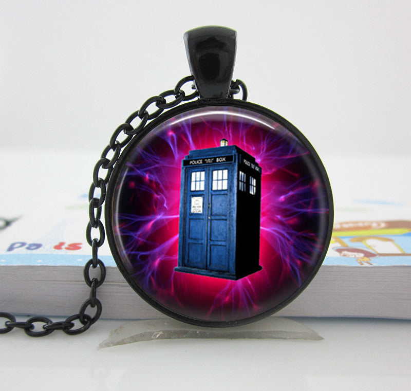 Tardis Pendant Necklace