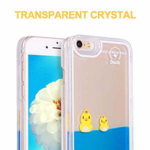 Swimming Duck Case For iPhone 5 SE/6 6S/6 Plus/6S Plus/7 7 Plus