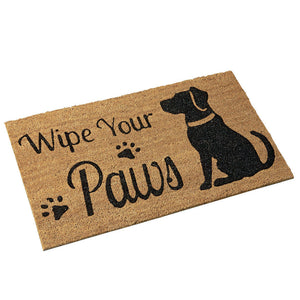 Wipe Your Paw Door Mat