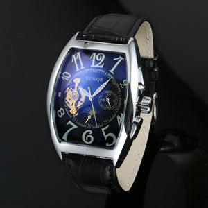 Sewor Mechanical Automatic Stainless Steel Watch - Trendy Gear-- - 1