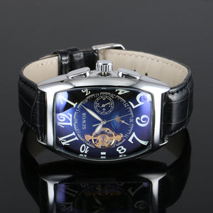 Sewor Mechanical Automatic Stainless Steel Watch - Trendy Gear-- - 7