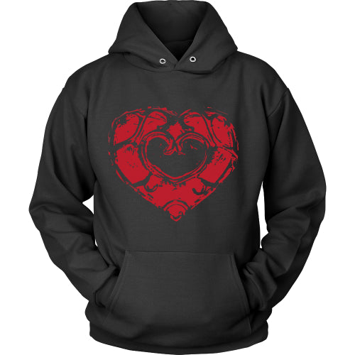 Skyward Heart - Trendy Gear-Hoodie / Black / S-T-shirt - 5
