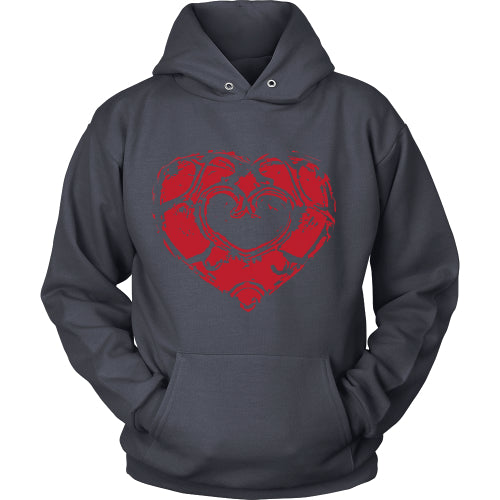 Skyward Heart - Trendy Gear-Hoodie / Navy / S-T-shirt - 6
