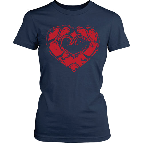 Skyward Heart - Trendy Gear-District Womens Shirt / Navy / S-T-shirt - 7