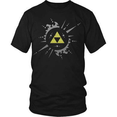 Triforce Shirt - Trendy Gear-Black / S / Basic Mens Shirt-T-shirt - 1