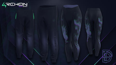 Team Damaged Souls Esports - Joggers, Leggings - Archon Clothing @Nexxiaa