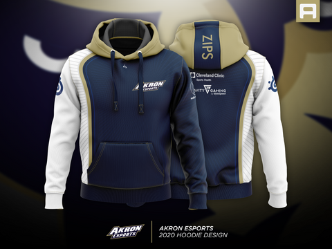 Akron Esports - Pullover Hoodie - Archon Clothing @AllenMcCoyDesigns