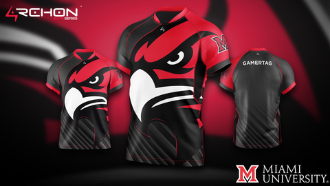 University of Miami Ohio Esports - Elite Jersey - Archon Clothing @Nexxiaa