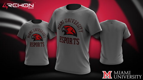 University of Miami Ohio Esports - T-Shirt - Archon Clothing @Nexxiaa