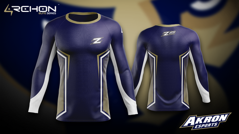 Akron Esports - Long Sleeve - @AllenMcCoyDesigns