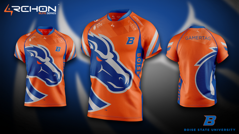 Boise State Esports - Elite Jersey - Orange - Archon Clothing @Nexxiaa