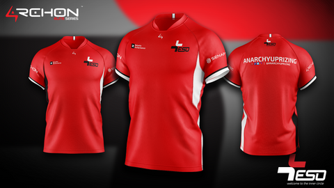 Team ESO Esports - Elite Jersey Red - Archon Clothing @Nexxiaa