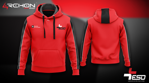 Team ESO Esports - Pullover Hoodie Red - Archon Clothing @Nexxiaa
