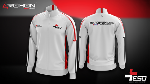Team ESO Esports - Pro Jacket White - Archon Clothing @Nexxiaa