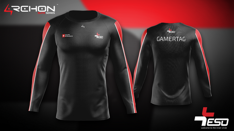 Team ESO Esports - Long Sleeve Black - Archon Clothing @Nexxiaa