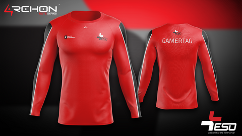 Team ESO Esports - Long Sleeve Red - Archon Clothing @Nexxiaa