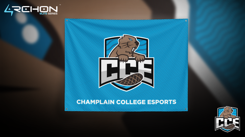 Champlain College Esports - Flag - Archon Clothing @AllenMcCoyDesigns