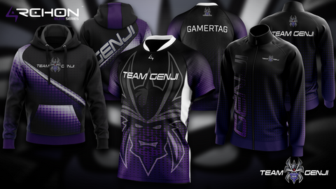 Team Genji - Elite Jersey, Pro Jacket, Hoodie - Archon Clothing @Nexxiaa